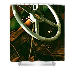 Shower Curtain featuring the photograph Our New Car by Don Wright