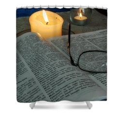 Our Shabbat Shower Curtain