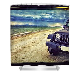 Out For A Play Shower Curtain