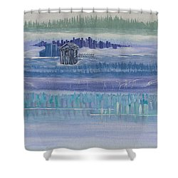 Out House In Nowhere Shower Curtain