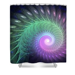Out Of The Deep Shower Curtain