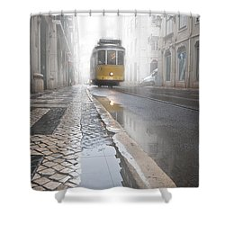 Out Of The Haze Shower Curtain