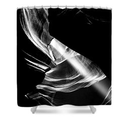 Out Of The Hole Shower Curtain