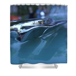 Shower Curtain featuring the photograph Out Of The Metal by Laurie Perry
