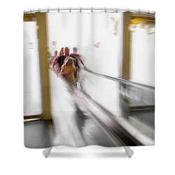 Shower Curtain featuring the photograph Out Of Thin Air by Alex Lapidus