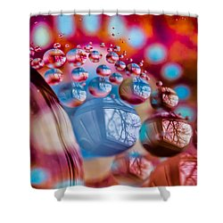 Out Of This World Shower Curtain by Sara Frank