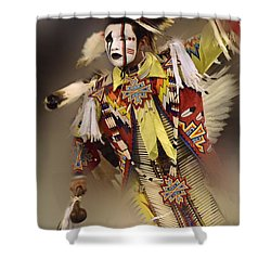 Out Of Time Shower Curtain by Bob Christopher