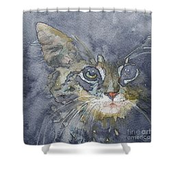 Out The Blue You Came To Me Shower Curtain
