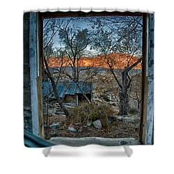 Out The Window Shower Curtain