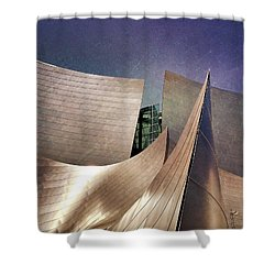 Outer Planes Shower Curtain