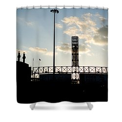 Outside Comiskey Park Shower Curtain
