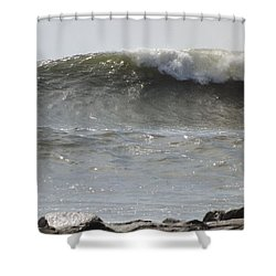 Outside Shower Curtain by John Wartman