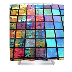 Outside The Box Shower Curtain by Tony Cordoza