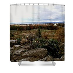 Over The Battle Field Of Gettysburg Shower Curtain