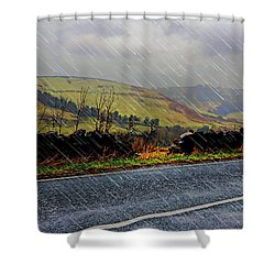 Over The Tops Shower Curtain