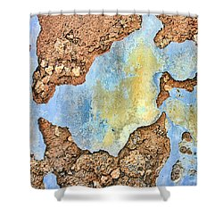 Over The Years Shower Curtain by Marcia Colelli