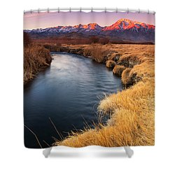 Owens River Shower Curtain