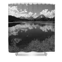Oxbow Bend Shower Curtain