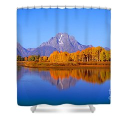 Oxbow Bend In Grand Teton Shower Curtain