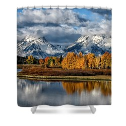 Oxbow Morning Shower Curtain