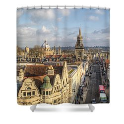 Oxford High Street Shower Curtain