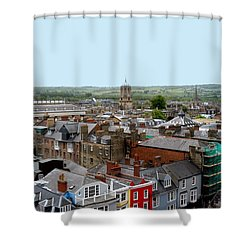 Oxford Town Shower Curtain by Joseph Yarbrough