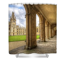 Oxford University - All Souls College 2.0 Shower Curtain