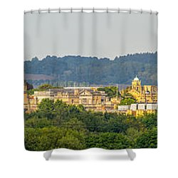 Oxford University Panorama Shower Curtain