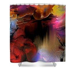 Oxocelhaya Shower Curtain by Francoise Dugourd-Caput