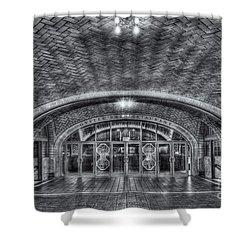 Oyster Bar Restaurant II Shower Curtain