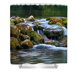 Ozark Waterfall Shower Curtain