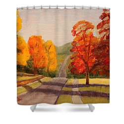 Ozarks October Shower Curtain
