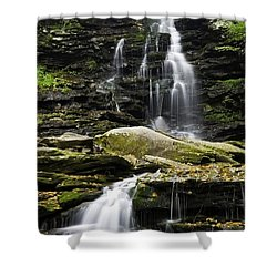 Ozone Falls Shower Curtain