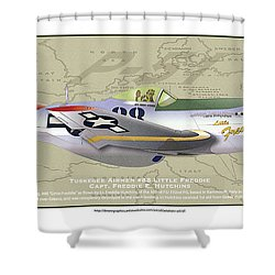 P-51  Shower Curtain