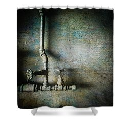 Pacific Airmotive Corp 18 Shower Curtain