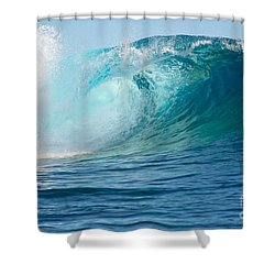 Pacific Big Wave Crashing Shower Curtain