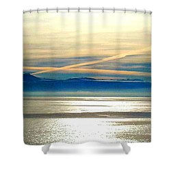 Pacific Blue Shower Curtain