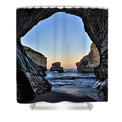 Shower Curtain featuring the photograph Pacific Coast - 2 by Mark Madere