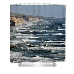 Pacific Coast - Image 001 Shower Curtain