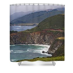 Pacific Coast View Shower Curtain