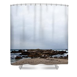 Pacific Horizon Shower Curtain by Melinda Ledsome