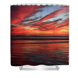 Oceanside Reflections Shower Curtain