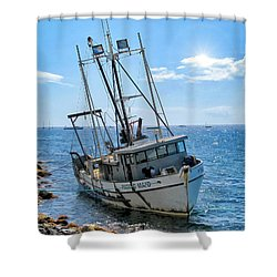 Pacific Maid 2 Shower Curtain