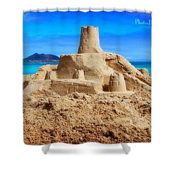 Pacific Moat Shower Curtain