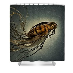 Pacific Sea Nettle Shower Curtain