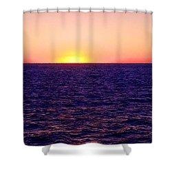 Pacific Sunset Off Laguna Beach Shower Curtain by Bob and Nadine Johnston