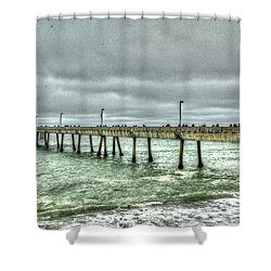 Pacifica Municipal Fishing Pier 7 Shower Curtain
