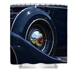 Shower Curtain featuring the photograph Packard - 1 by Dean Ferreira