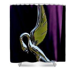Shower Curtain featuring the photograph Packard - 3 by Dean Ferreira