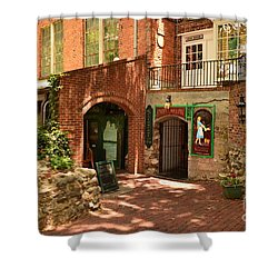 Paddys Hollow Restaurant And Pub Shower Curtain by Bob Sample